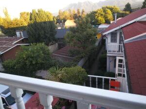 Udsigt fra hotellet